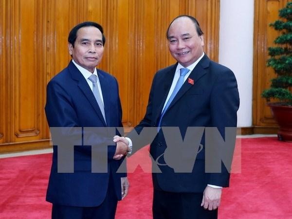 Vietnam y Laos por robustecer lazos en labor de inspeccion hinh anh 1