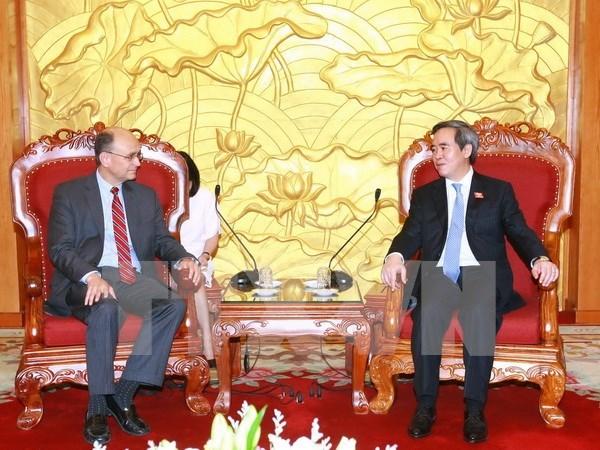 Visita Vietnam subsecretario del Tesoro de Estados Unidos hinh anh 1