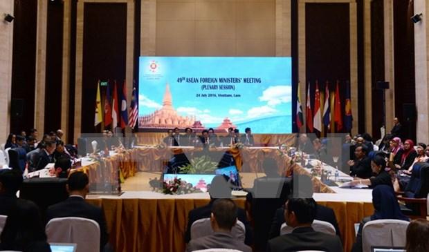 Aprobada declaracion conjunta ASEAN-China sobre cumplimiento pleno de DOC hinh anh 1