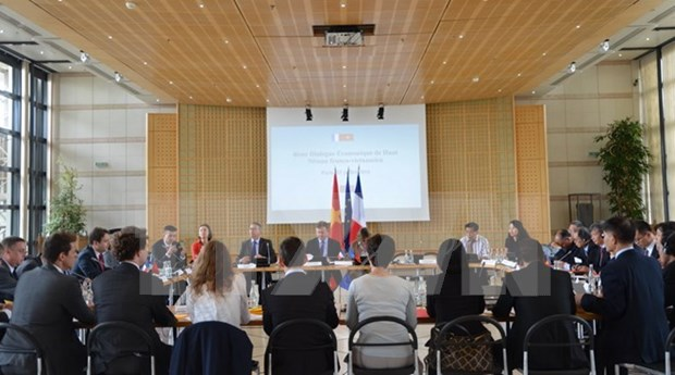 En Paris cuarto dialogo economico de alto nivel Vietnam – Francia hinh anh 1