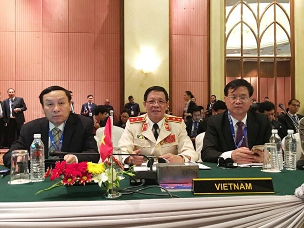 Inauguran en Malasia Conferencia de Jefes de Policia de la ASEAN hinh anh 1