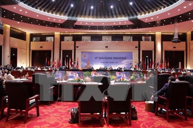 Adoptada propuesta de Vietnam en Foro Regional de ASEAN hinh anh 1