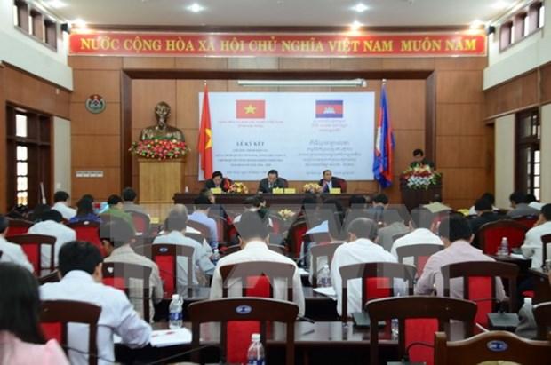 Provincias vietnamita y camboyana impulsan cooperacion integral hinh anh 1