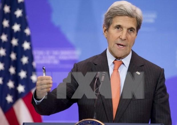 EE.UU. exhorta a Filipinas y China a negociar sobre disputas en Mar del Este hinh anh 1