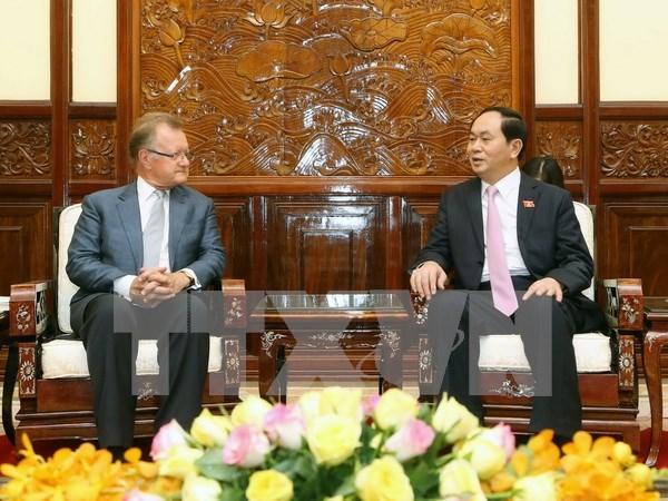 Vietnam saluda iniciativas a favor del desarrollo sostenible, dijo presidente hinh anh 1