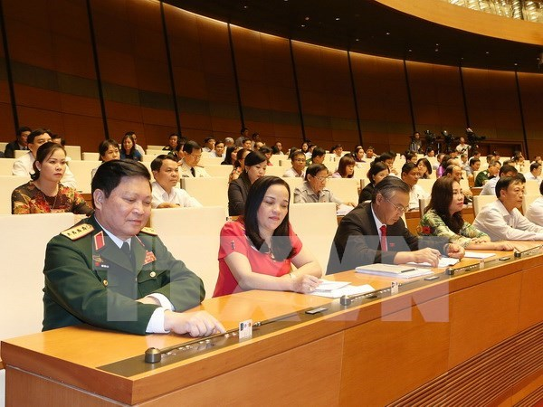 Asamblea Nacional aprueba lista de miembros del Consejo de Defensa – Seguridad hinh anh 1