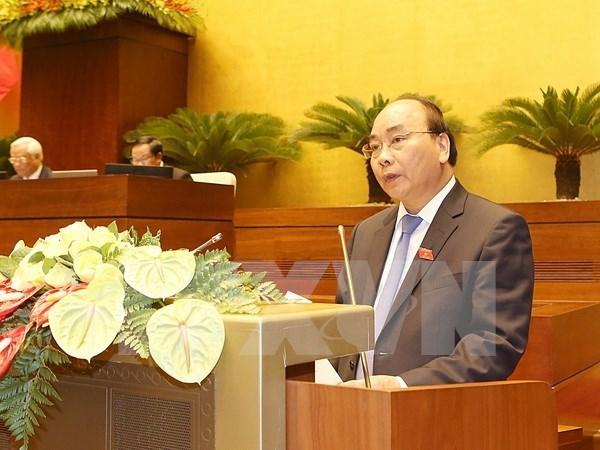 Parlamento aprueba resolucion sobre la estructura del Gobierno hinh anh 1
