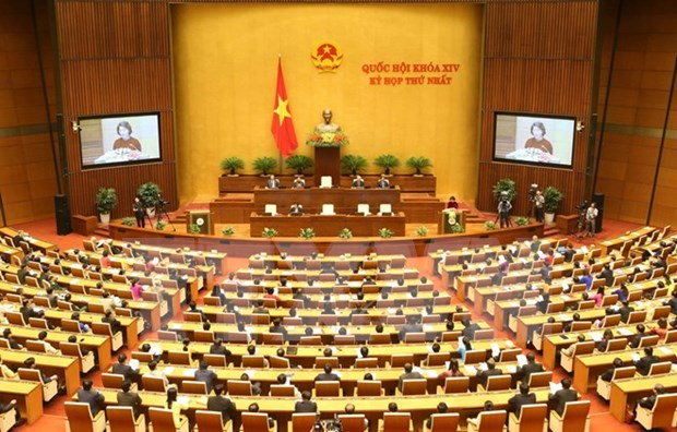 Asamblea Nacional de la XIV legislatura concluye primer periodo de sesiones hinh anh 1