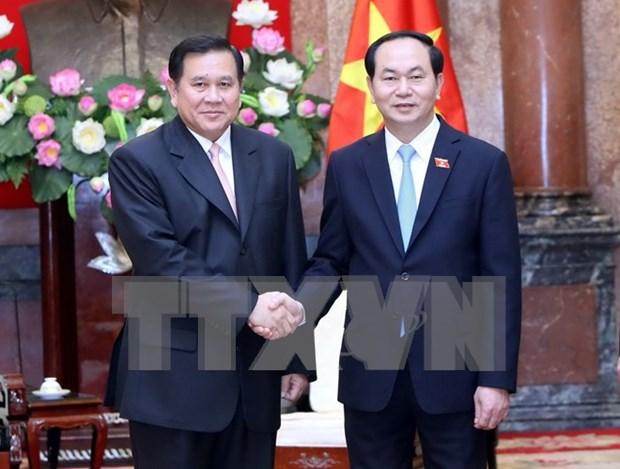 Vietnam y Tailandia decididos a intensificar sus relaciones hinh anh 1