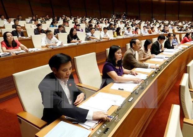 Parlamento aprueba balance del presupuesto del Estado para 2014 hinh anh 1