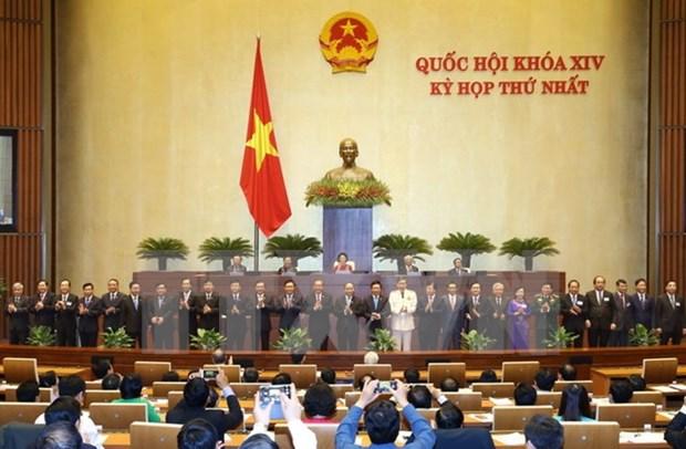Parlamentarios vietnamitas confian en el nuevo gobierno hinh anh 1