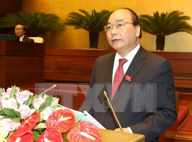Premier: Estabilidad macroeconomica, base para el crecimiento sostenible de Vietnam hinh anh 1