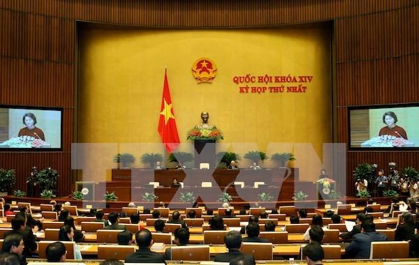Parlamento de XIV legislatura cumple tareas en relacion con trabajo de personal hinh anh 1