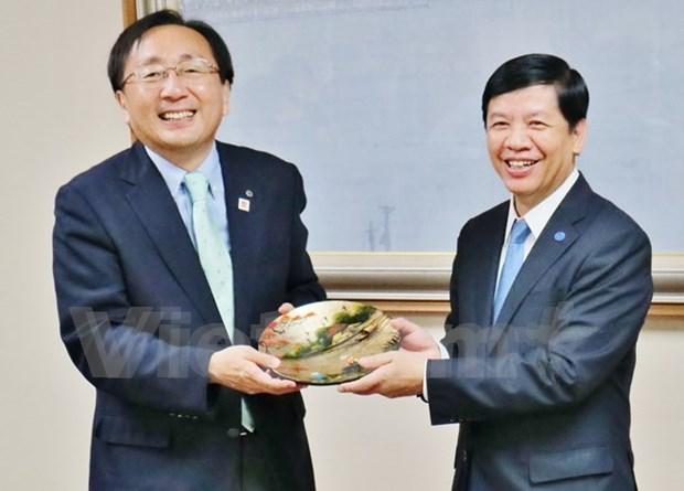 Prefectura japonesa de Aomori impulsa relaciones con provincias vietnamitas hinh anh 1