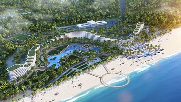 Inauguran complejo turistico FLC Quy Nhon hinh anh 1