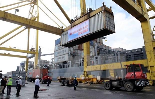 Inician trabajos de ampliacion de puerto Tien Sa hinh anh 1