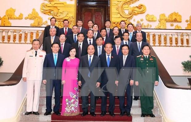 Nuevo gabinete de Vietnam sesiona por primera vez hinh anh 1