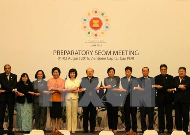 ASEAN prepara Conferencia 48 de Ministros de Economia del bloque hinh anh 1