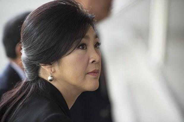 Acusan a exprimera ministra tailandesa por danos al presupuesto estatal hinh anh 1