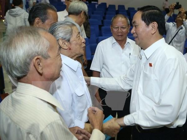 Interesados electores en resultados del primer periodo de sesiones del Parlamento hinh anh 1