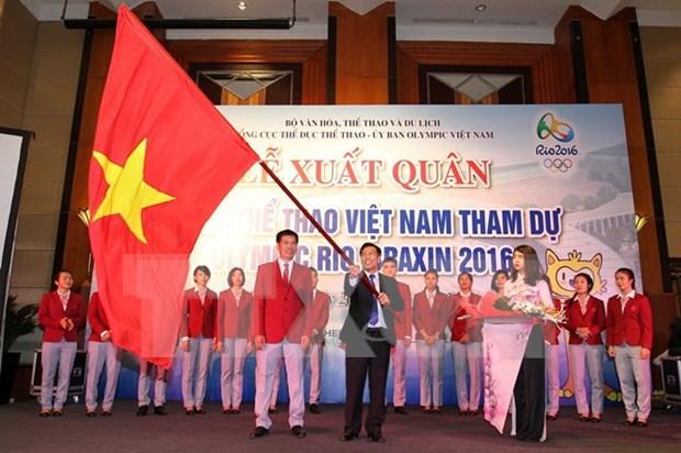 Vietnam pone esperanzas olimpicas en tiro, levantamiento de pesas y natacion hinh anh 1
