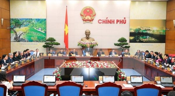 Gobierno de Vietnam discute situacion de desarrollo socioeconomico hinh anh 1