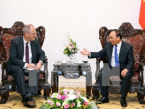 Vietnam y Alemania por elevar trasiego comercial a 20 mil millones de dolares hinh anh 1