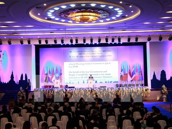 Inauguran 48 Conferencia de Ministros de Economia de la ASEAN hinh anh 1