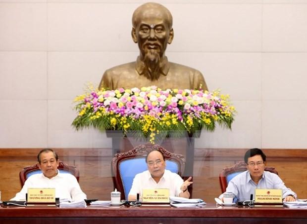 Gobierno de Vietnam se enfrasca en alcanzar mayor crecimiento economico hinh anh 1