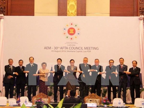 Para 2018 se eliminara 98,67 por ciento de barreras arancelarias en ASEAN hinh anh 1