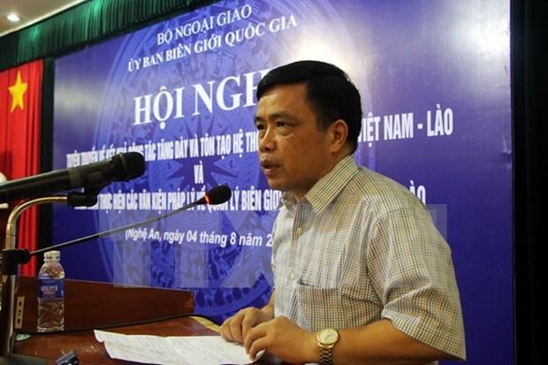 Nuevos sistemas de hitos fronterizos Vietnam-Laos hinh anh 1