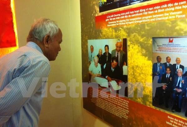 Abren en Hanoi exposicion sobre agenta naranja hinh anh 1