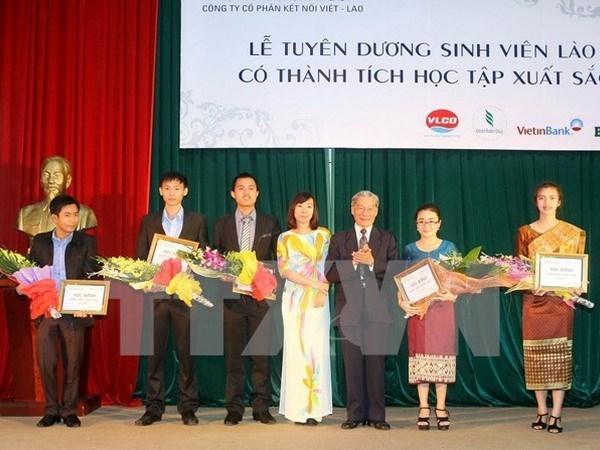 Impulsan cooperacion entre Vietnam y Laos en educacion hinh anh 1