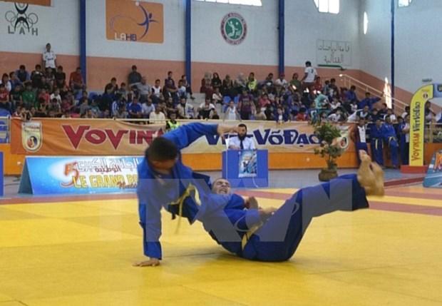 Concluye Festival internacional de artes marciales tradicionales de Vietnam hinh anh 1