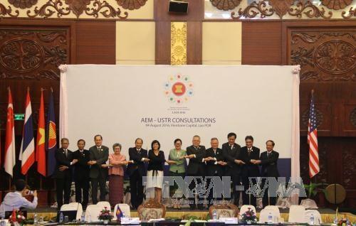 Reconocen avances en cooperacion entre ASEAN y Estados Unidos hinh anh 1