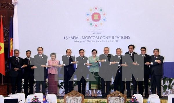 Comercio ASEAN-China crece por promedio de 18,5 por ciento hinh anh 1
