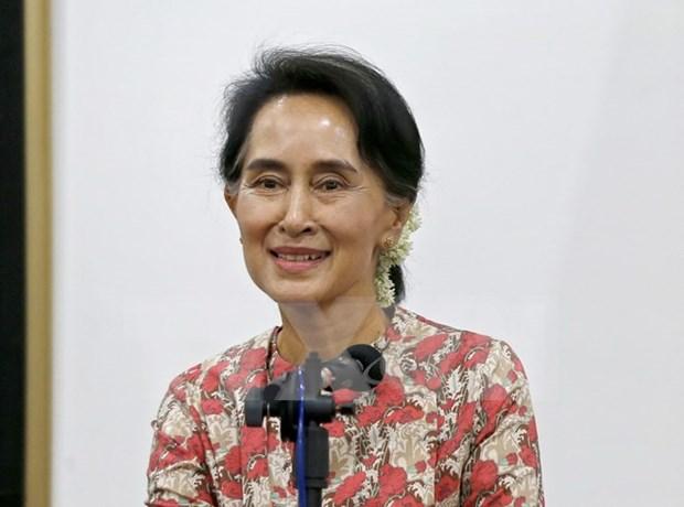 Myanmar investiga amenaza de Estado Islamico a Aung San Suu Kyi hinh anh 1
