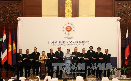 Celebran quinta consulta de ministros de Economia ASEAN-Rusia hinh anh 1