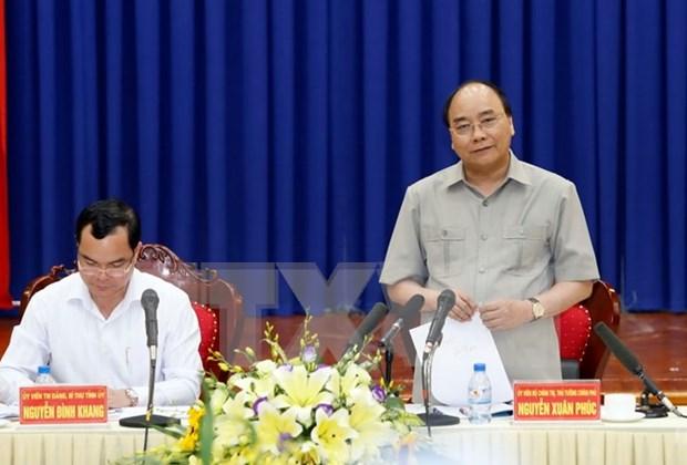 Premier vietnamita sugiere a Ha Nam a aprovechar su posicion geografica hinh anh 1