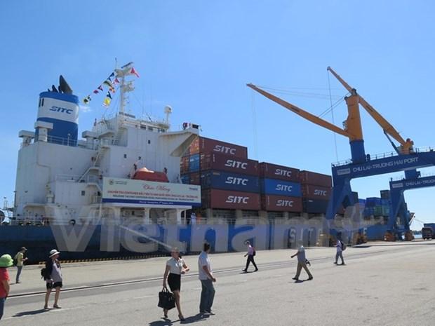 En servicio linea de transporte maritimo de contenedores Sudcorea – Chu Lai hinh anh 1