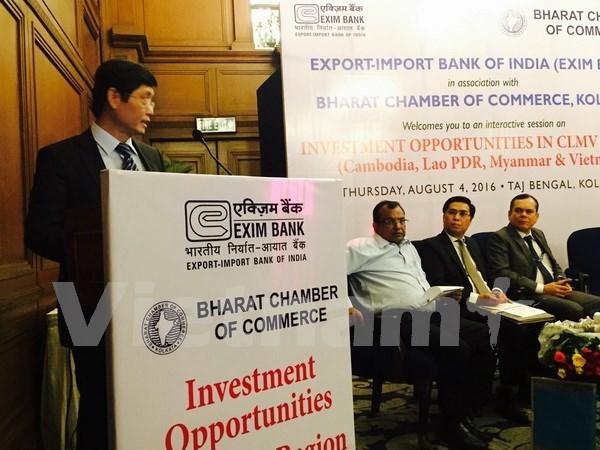 Promueve India inversiones en Vietnam hinh anh 1