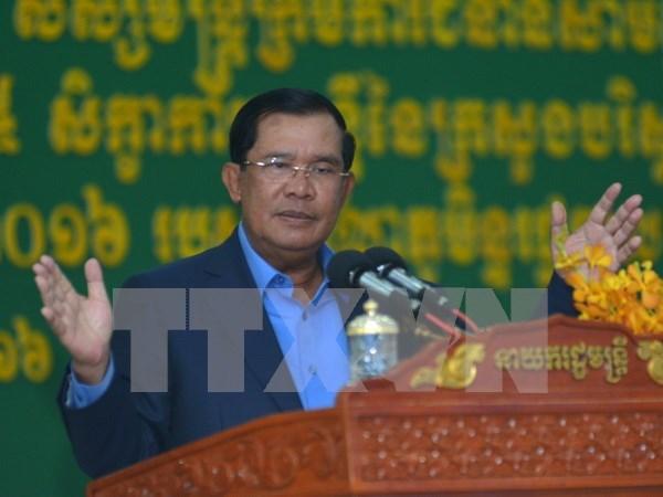 Camboya efectuara elecciones generales en 2018 hinh anh 1