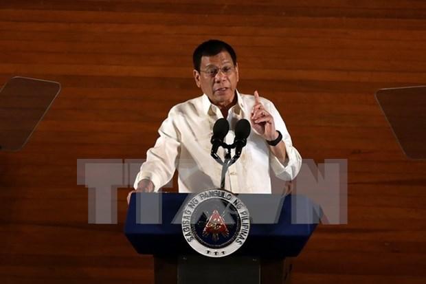 Presidente de Filipinas impulsa combate contra trafico de drogas hinh anh 1