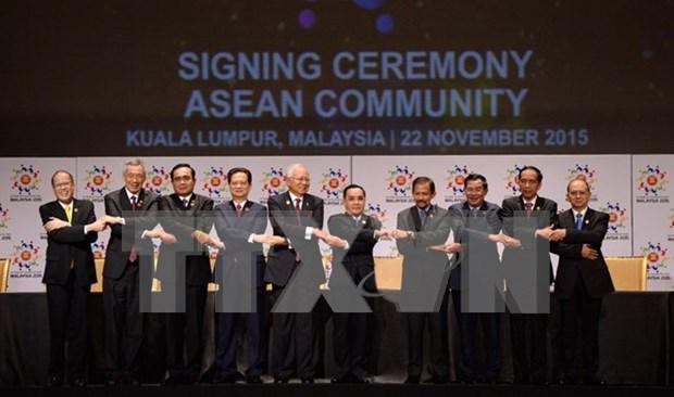 Comunidad de ASEAN: Vista retrospectiva y proyeccion de futuro hinh anh 1