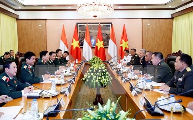 Vietnam e Indonesia robustecen lazos en defensa hinh anh 1