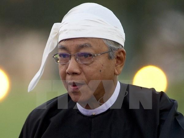 Myanmar se compromete a cooperar por desarrollo de ASEAN hinh anh 1