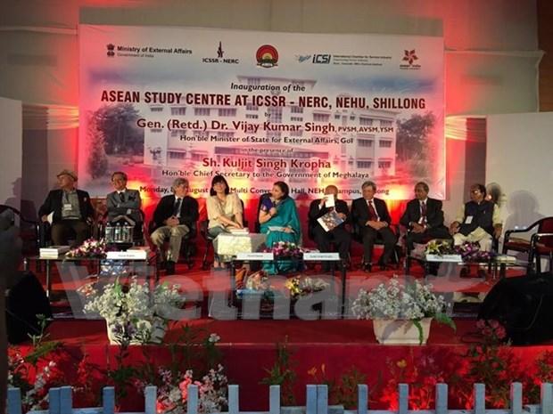 Abren Centro de Estudio de ASEAN en India hinh anh 1