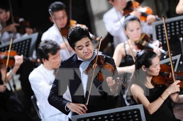 Disfrutan de la musica de Bach en Ciudad Ho Chi Minh hinh anh 1