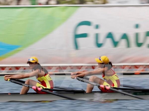 Juegos Olimpicos Rio 2016: equipo vietnamita de remo en semifinal hinh anh 1