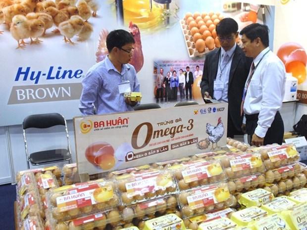 Inauguran exhibicion alimentaria en Ciudad Ho Chi Minh hinh anh 1